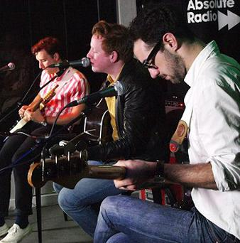 Two Door Cinema Club have been shortlisted for this year's Meteor Choice Music Prize