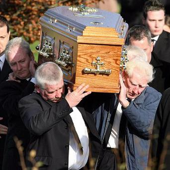 Thomas O'Hare and Lisa McClatchey were laid to rest in November 2006 following their deaths in a fire