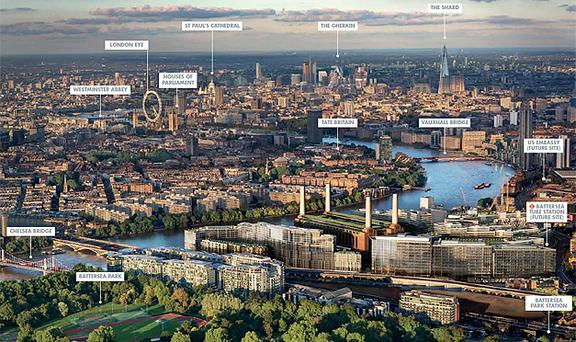 Photo courtesy of Battersea Power Station Development Company