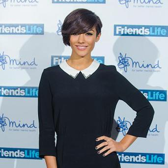 Frankie Sandford reportedly suffered from homesickness while filming The Saturdays' new US TV show