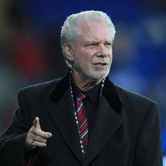 Hammers co-chairman David Gold is in hospital recovering from pneumonia