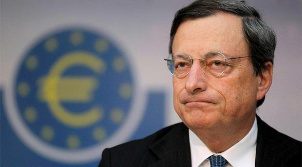 uropean Central Bank (ECB) President Mario Draghi. Photo: Reuters