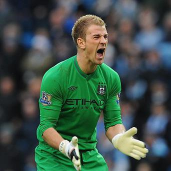 Joe Hart is not flustered by recent criticism