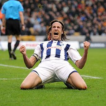Boss Steve Clarke insists Jonas Olsson, pictured, is happy at West Brom