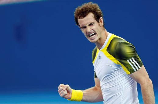 Andy Murray. Photo: Reuters