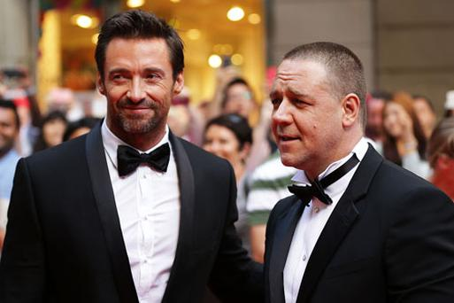 Les Mis, starring Hugh Jackman and Russell Crowe, opened this Friday