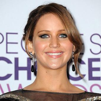 Jennifer Lawrence at the People's Choice Awards (Jordan Strauss/Invision/AP)
