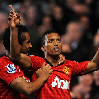 Anderson, left, and Nani will return for Manchester United's clash against Liverpool