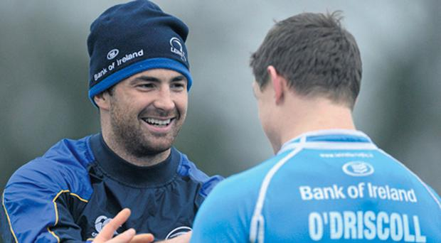 ?Rob Kearney and Brian O'Driscoll will be hoping to help Leinster keep alive their hopes of retaining the Heineken Cup