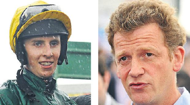 Jockey Mark Walsh and Tom Mullins can prove a winning team with Some Article