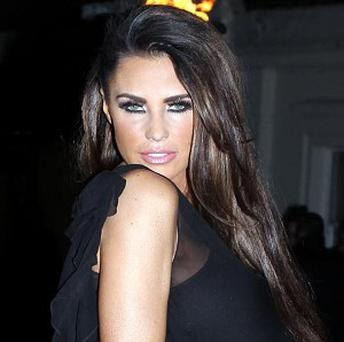 Katie Price announced her pregnancy at the weekend