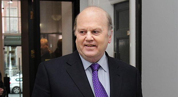 Michael Noonan: Rejected calls for more bank capital