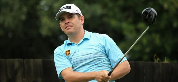 DURBAN, SOUTH AFRICA - JANUARY 12: Louis Oosthuizen of South Africa tee's off at the 6th during the third round of the Volvo Champions at Durban Country Club on January 12, 2013 in Durban, South Africa. (Photo by Richard Heathcote/Getty Images)