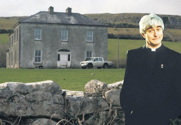 Patrick McCormack's home, which was the parochial house in 'Father Ted'.