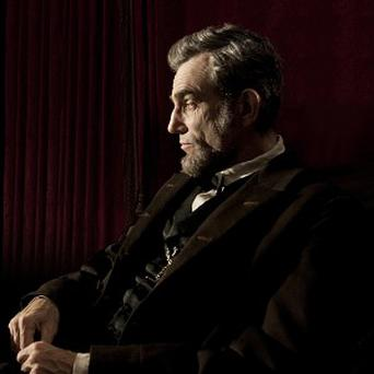 Daniel Day-Lewis stars as Abraham Lincoln in Spielberg's biopic Lincoln