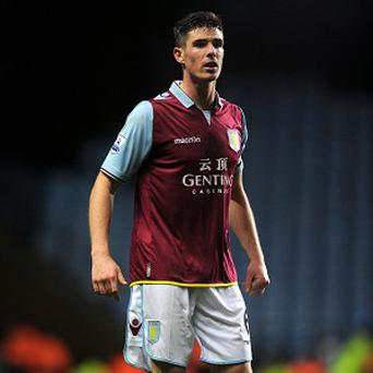 Ciaran Clark, pictured, has given his backing to under-fire Aston Villa boss Paul Lambert
