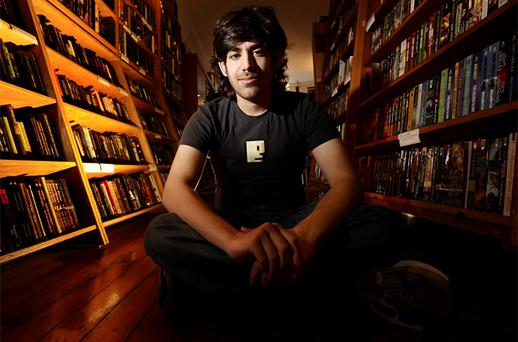 Aaron Swartz in 2008. Photo: Reuters