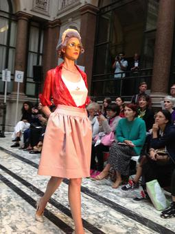 Bairbre's photographs from front row at the show