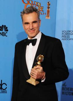 BEVERLY HILLS, CA - JANUARY 13: Actor Daniel Day-Lewis, winner of Best Actor in a Motion Picture (Drama) for