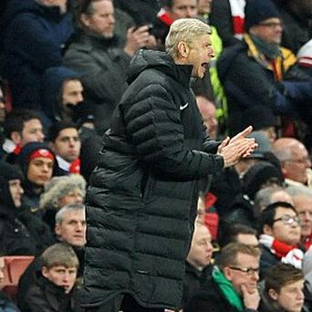 Arsene Wenger wants Arsenal to display more confidence following their Manchester City defeat