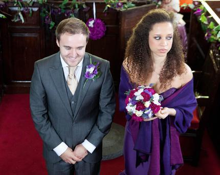 Kirsty and Tyrone's wedding is set to end in tears