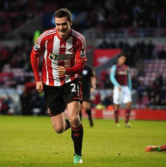 Adam Johnson's goal against West Ham was his third in eight games