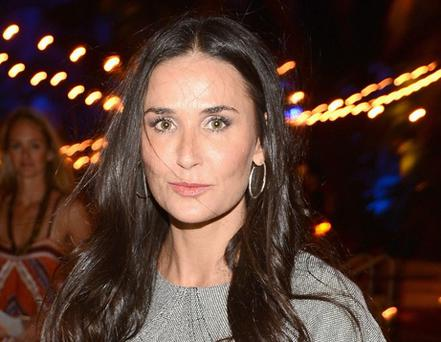 Demi Moore claims to have never had any work done to her face.