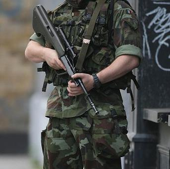 Defence Forces teams have dealt with four pipe bombs in Dublin
