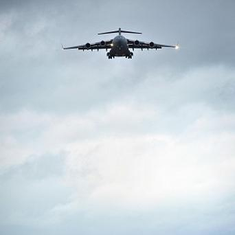 A second RAF C-17 transport aircraft has left Paris with supplies for the French military mission in Mali