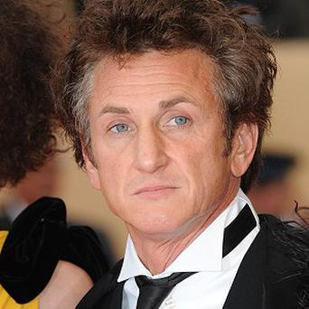 Sean Penn plays a Mafia leader in Gangster Squad