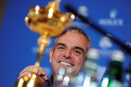 New Ryder Cup captain Paul McGinley