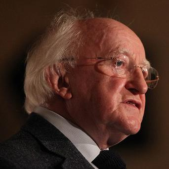 President Michael D Higgins was speaking at the opening of a two-day summit entitled Feeding the World in 2050