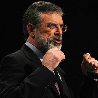 Sinn Fein president Gerry Adams underwent the procedure last July