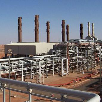 The Amenas natural gas field in the eastern central region of Algeria (AP)