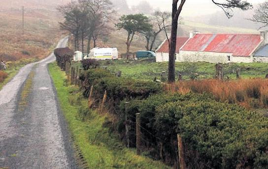 The home of burglary victim John Gallagher on Donegal's isolated Inishowen peninsula