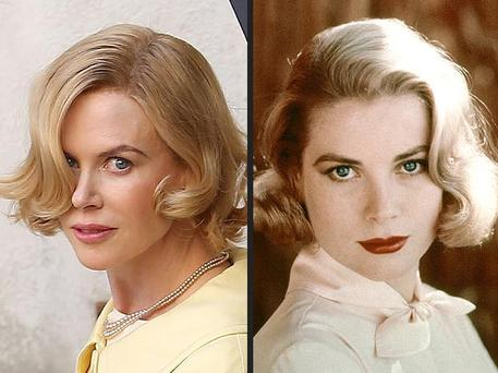 Scenes with Nicole Kidman in the forth-coming 'Grace of Monaco', have been described as 'purely fictional'.