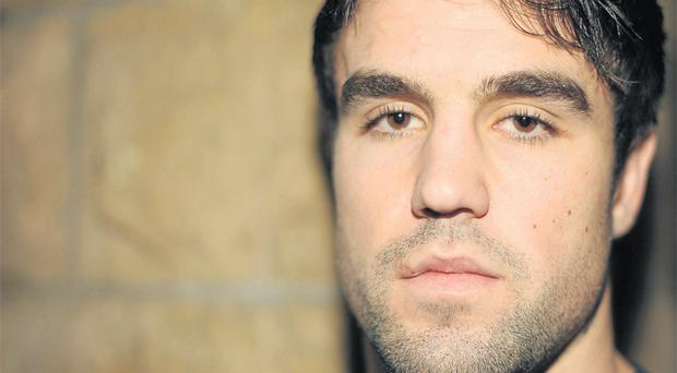 Conor Murray in pensive mood yesterday