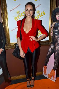 Danielle was attending the Eric awards in Dublin last night. PHOTO: VIP PIctures