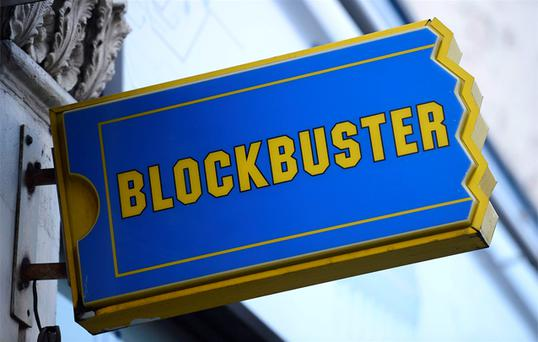 Entertainment retailer Blockbuster UK has gone into administration, appointing Deloitte to seek a buyer for all or parts of the business, just days after rival HMV hit the rocks. Photo: Reuters