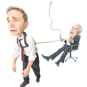 Zenger & Folkman's research study of 30,000 US managers identified the 10 flaws that contribute to defining a bad boss