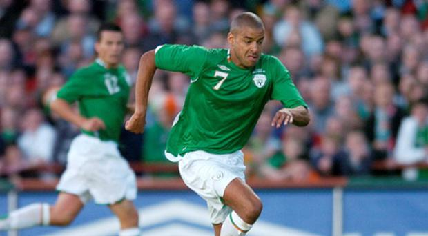 Republic of Ireland v Chile - International Friendly...24 May 2006; Steven Reid, Republic of Ireland. International Friendly, Republic of Ireland v Chile, Lansdowne Road, Dublin. Picture credit; David Maher / SPORTSFILE...ABC