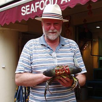 Professor Bob Elwood found that crabs probably feel pain and take action to avoid it (Queen's University Belfast/PA)
