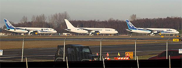 Boeing 787 Dreamliners have been grounded due to fire risk posed by lithium batteries