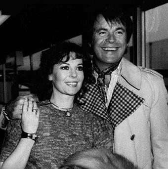 Natalie Wood with her actor husband Robert Wagner, in Los Angeles (AP)