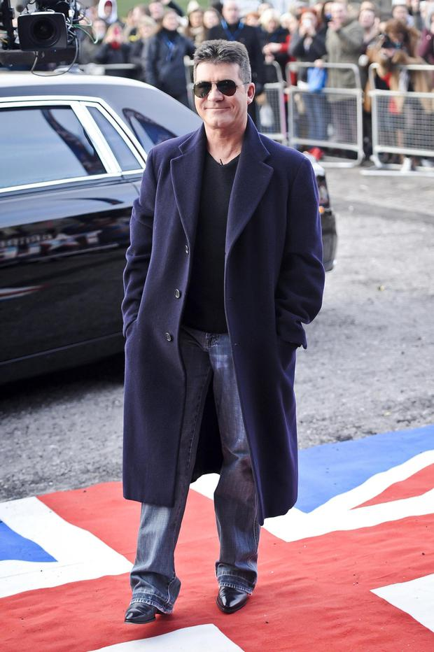 Simon Cowell arrives at the Welsh auditions for the ITV programme Britain's Got Talent at the Millenniumm Centre, Cardiff.