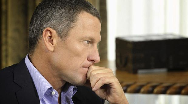 17 January, 2013: Cyclist Lance Armstrong is interviewed by Oprah Winfrey in Austin, Texas. During the interview Armstrong finally admitted to using performance enhancing drugs during his cycling career. Photo: Reuters