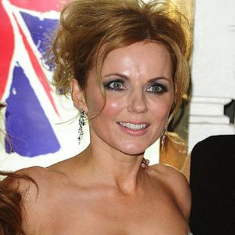 Geri Halliwell has been working on new material in the studio