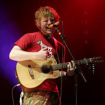 Ed Sheeran admires Taylor Swift because she writes her own songs