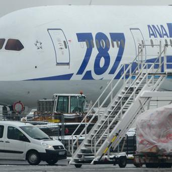 Boeing 787 Dreamliners have been grounded worldwide (AP)