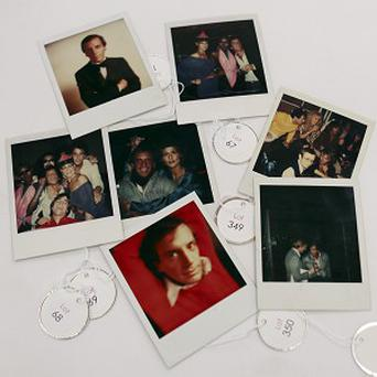 Polaroids shot by Andy Warhol at Studio 54 are up for auction (AP Photo/Alan Diaz)